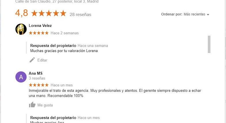 Testimonios de clientes que han vendido o comprado piso en Vallecas