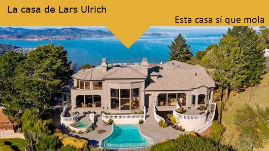 Esta casa sí que mola: La mansión de Lars Ulrich