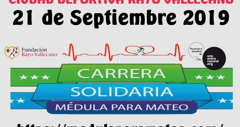 Carrera solidaria – Médula para Mateo